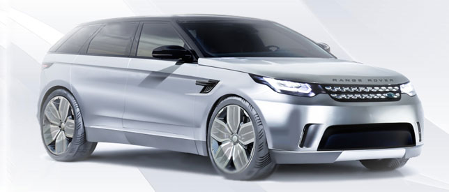 EV Range Rover To Take On Tesla Model S