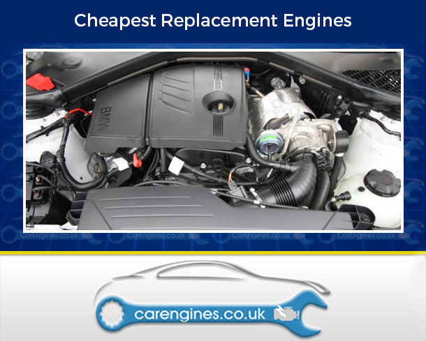 Engine For BMW 118i-Petrol