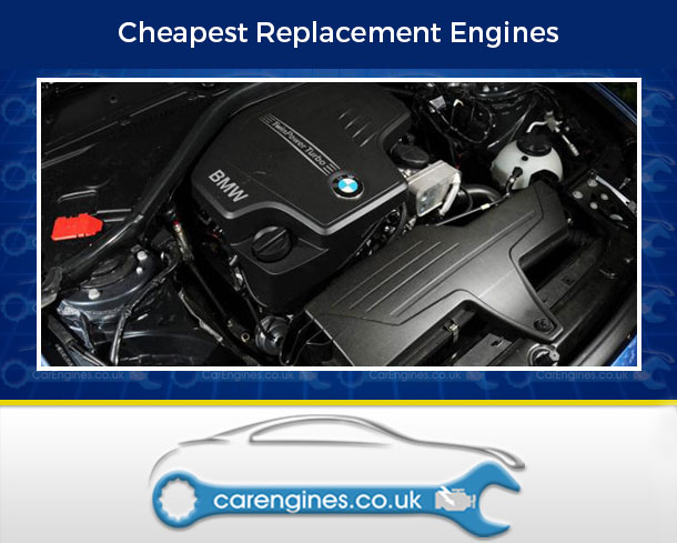 Engine For BMW 125i-Petrol