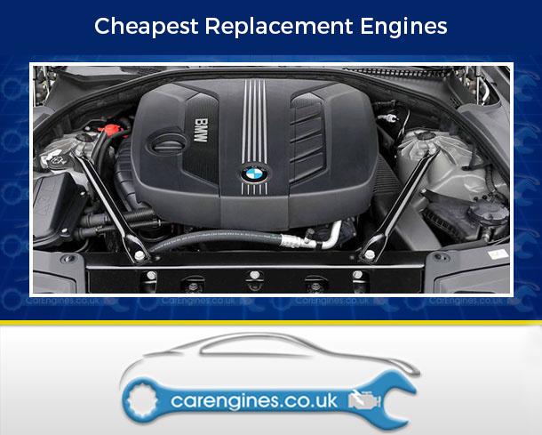 Engine For BMW 520d-Diesel