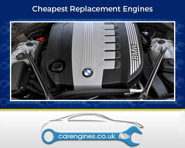 Engine For BMW 730d-Diesel