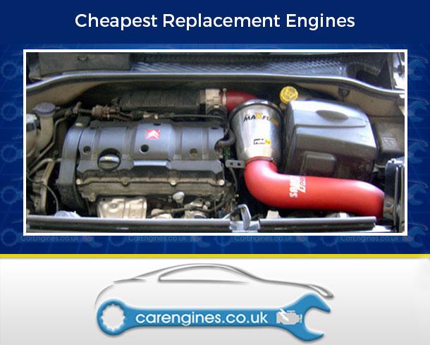 Engine For Citroen C2-Petrol