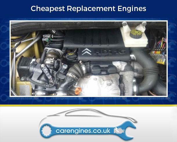 Engine For Citroen C4-Picasso-Diesel