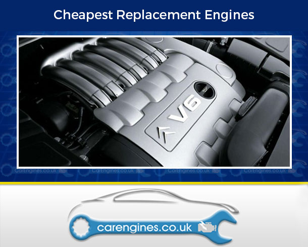 Engine For Citroen C5-Petrol