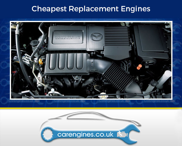 Engine For Mazda 2-Petrol