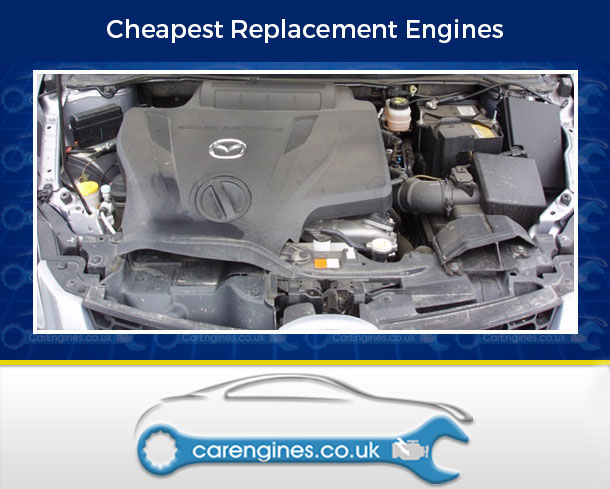 Engine For Mazda CX-7--Petrol