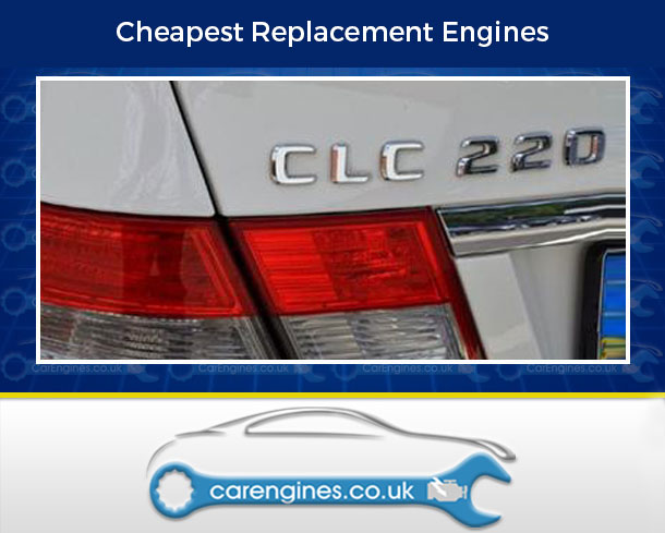Reconditioned Mercedes CLC 220 CDI Diesel Engine for Sale, Pay