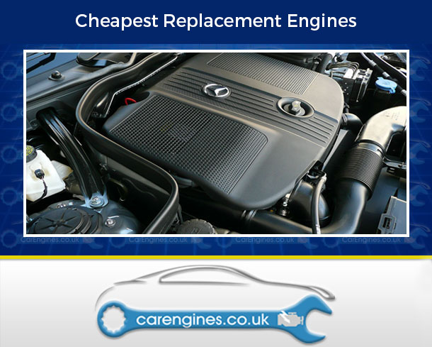Reconditioned Mercedes E220 CDI BlueEFFICIENCY Engine for Sale, Pay