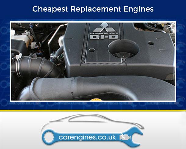 Engine For Mitsubishi Pajero-Diesel