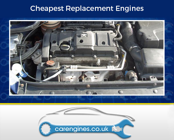 Engine For Peugeot 206-CC-Petrol