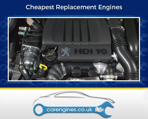 Engine For Peugeot 206-Diesel