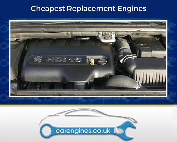 Engine For Peugeot 307-CC-Diesel