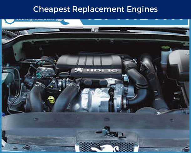 Engine For Peugeot 407-Coupe-Diesel