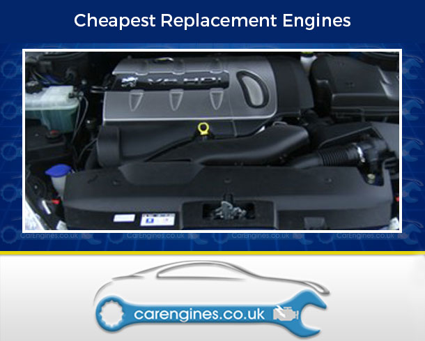 Engine For Peugeot 407-Coupe-Petrol