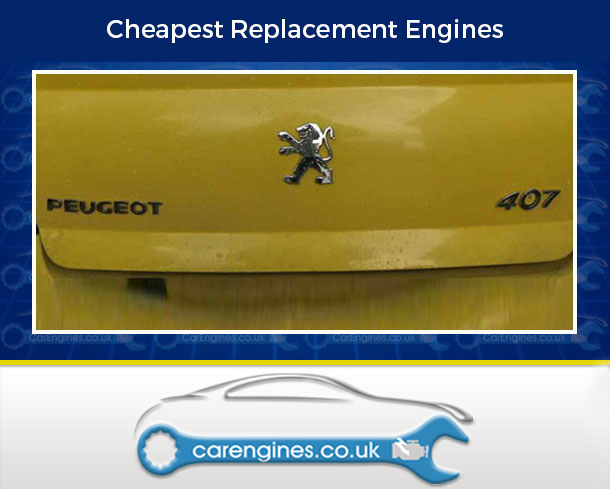 Peugeot 407-Petrol