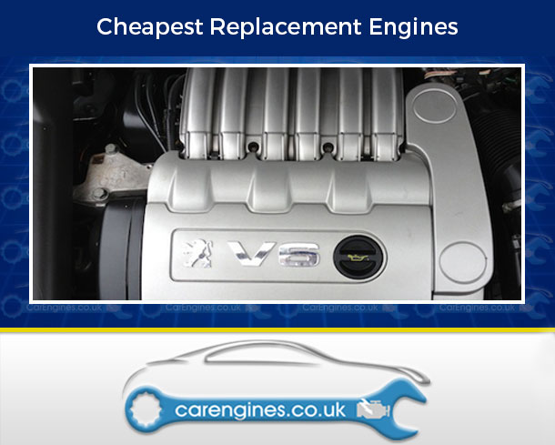Engine For Peugeot 607-Petrol