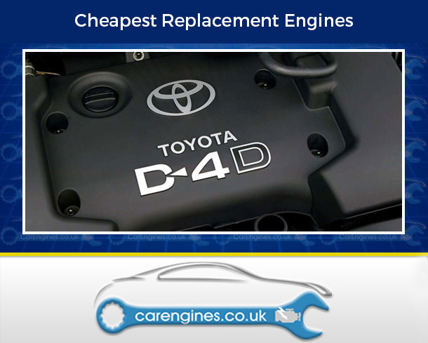 Engine For Toyota Corolla-Verso-Diesel