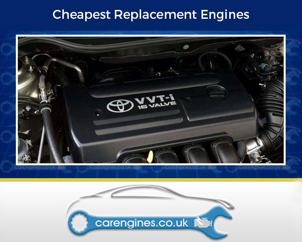 Engine For Toyota Corolla-Verso-Petrol