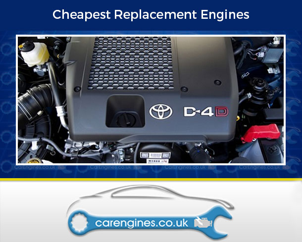 Engine For Toyota Hilux-Diesel-Pick-Up