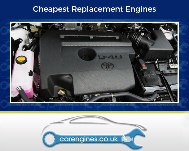 Engine For Toyota RAV4--Diesel